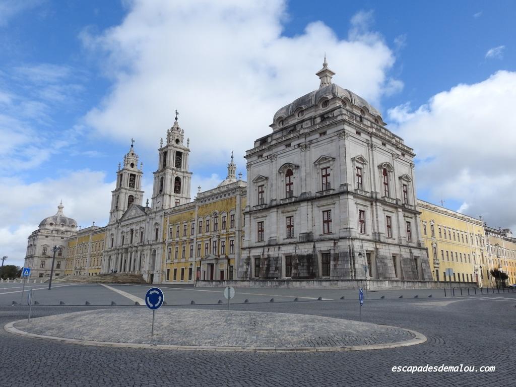 Le palais de Mafra et le couvent, un ensemble d'une grande beauté