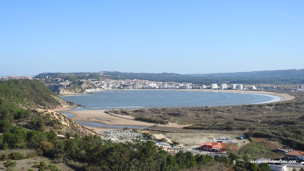 São Martinho do Porto et sa splendide baie en forme de coquille