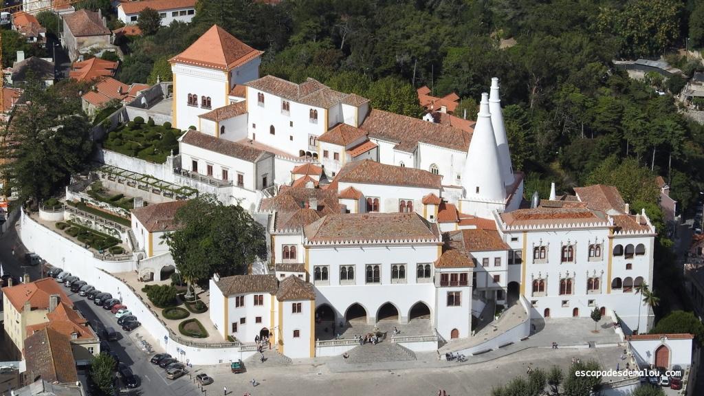 Le palais national de Sintra, un coup de coeur pour son intérieur